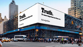 "The New York Times' First-Ever Oscars Ad Is All About ""The Truth"""