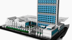 Be A Mini Le Corbusier With This United Nations Lego Set