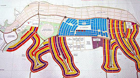 Flush With Oil Cash, Southern Sudan Plans Giraffe-Shaped Capital City and a Rhinopolis