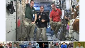 NASA Launches Live Google Hangout With Astronauts In Space