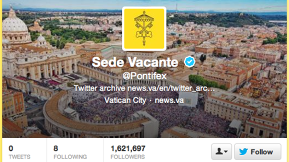 "As The Pope Flies Off To Become A ""Pilgrim,"" The Vatican Deletes His Tweets"