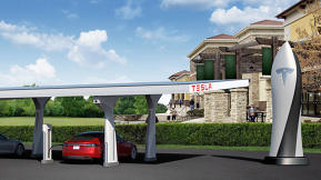 Tesla Motors To Triple Its Electric Car Supercharger Network By The End Of 2013