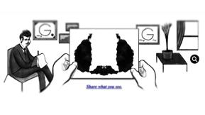 Can You Tell Me What You See When You Try Google's Rorshach Test?