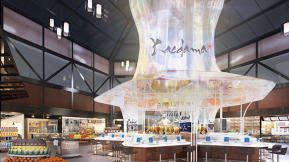 Newark Airport's New United Terminal Looks Like A Foodie Theme Park