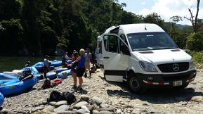 Mercedes-Benz Sprints Through the Jungle at Pacuare Lodge