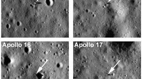 Detailed Pics Of Apollo Landing Sites: NASA 1, Conspiracy Theorists 0