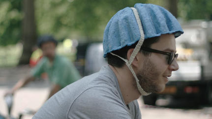 A Disposable Helmet Made Of Paper Pulp, For Bike-Sharing Programs