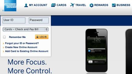 American Express Confirms Site Was Hacked: Report
