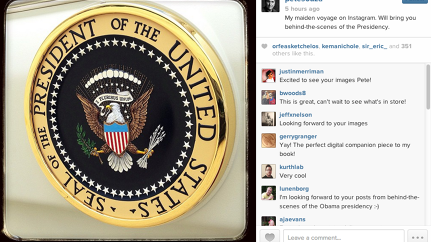 Today's Most Creative Person: White House Photographer Pete Souza Heads To Instagram