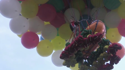 Man Fails In His Attempt To Float Across The Atlantic With Balloons