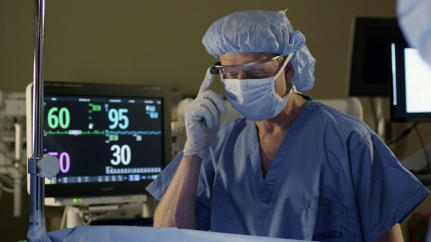 How Surgeons Might Use Google Glass