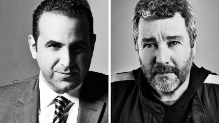 Dynamic Duos: SBE's Sam Nazarian And Designer Philippe Starck On Courage