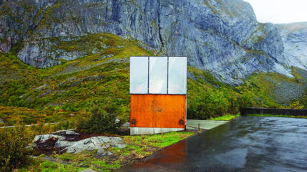 Splashy Architecture: The Outhouse Is In