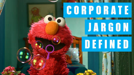 "Watch Elmo And The ""Sesame Street"" Cast Turn Corporate Jargon Cute"