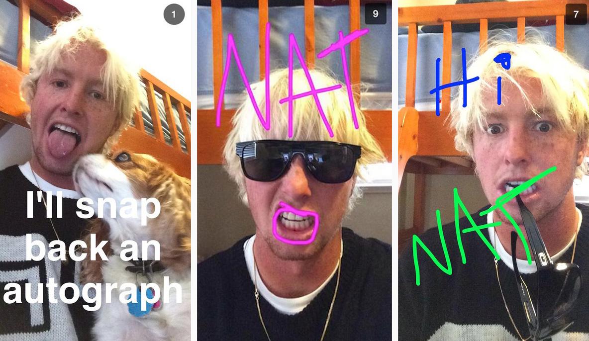 Nat Young Snapchat